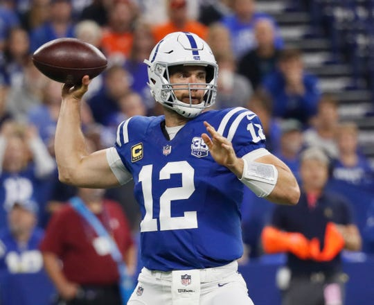 Colts quarterback Andrew Luck, the No. 1 overall pick in 2012, started all 16 games as a rookie, went 11-5 and never looked back. He returned to lineup in Week 1 last week after losing his 2017 season to a shoulder injury.