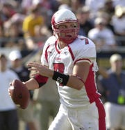 Ben Roethlisberger, shown playing for Miami of Ohio in 2003, started the third game of his rookie season with the Steelers in 2004 and has been a star ever since.