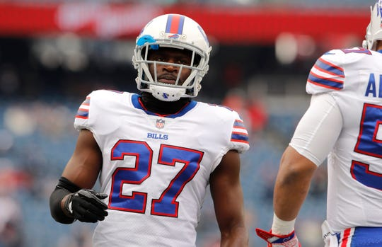 Bills cornerback Tre'Davious White will have a busy day covering Keenan Allen of the Chargers.