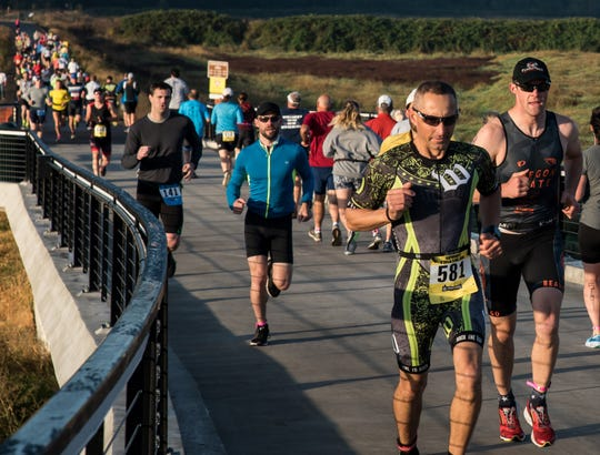 ​​​​​​​Salem Rotary Multi-sport Riverfest: Olympic and sprint distance triathlon (swim/bike/run), duathlon (run/bike/run), 10K, 5K and 1K events will be offered for runners of all levels, 7:30 a.m. Sept. 15, Wallace Marine Park, Riverfront Park and Minto-Brown Island Park. $15-$110. www.rotaryriverfestsalem.org.