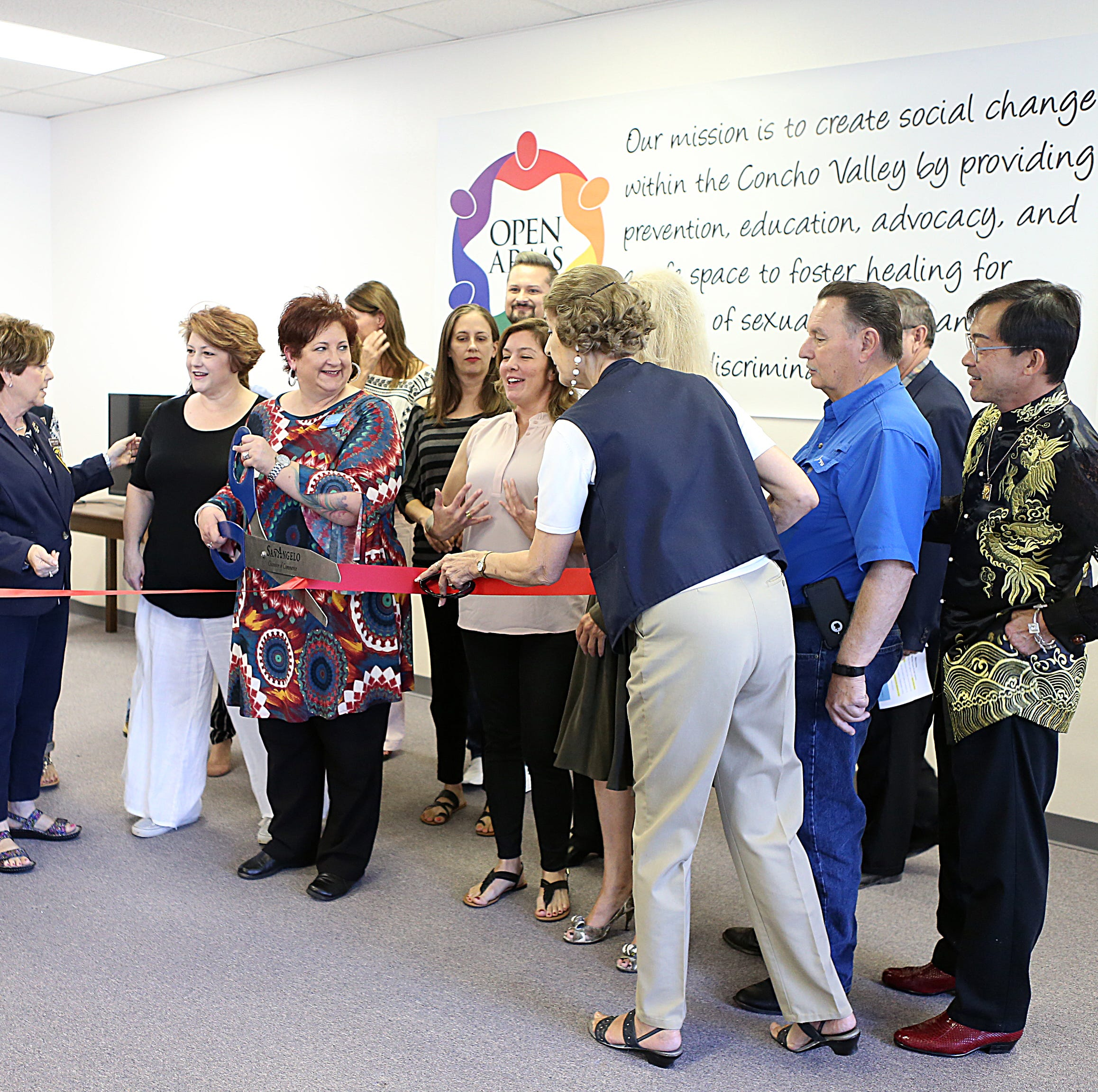 San Angelo's Open Arms Rape Crisis Center hosts open house for its new location