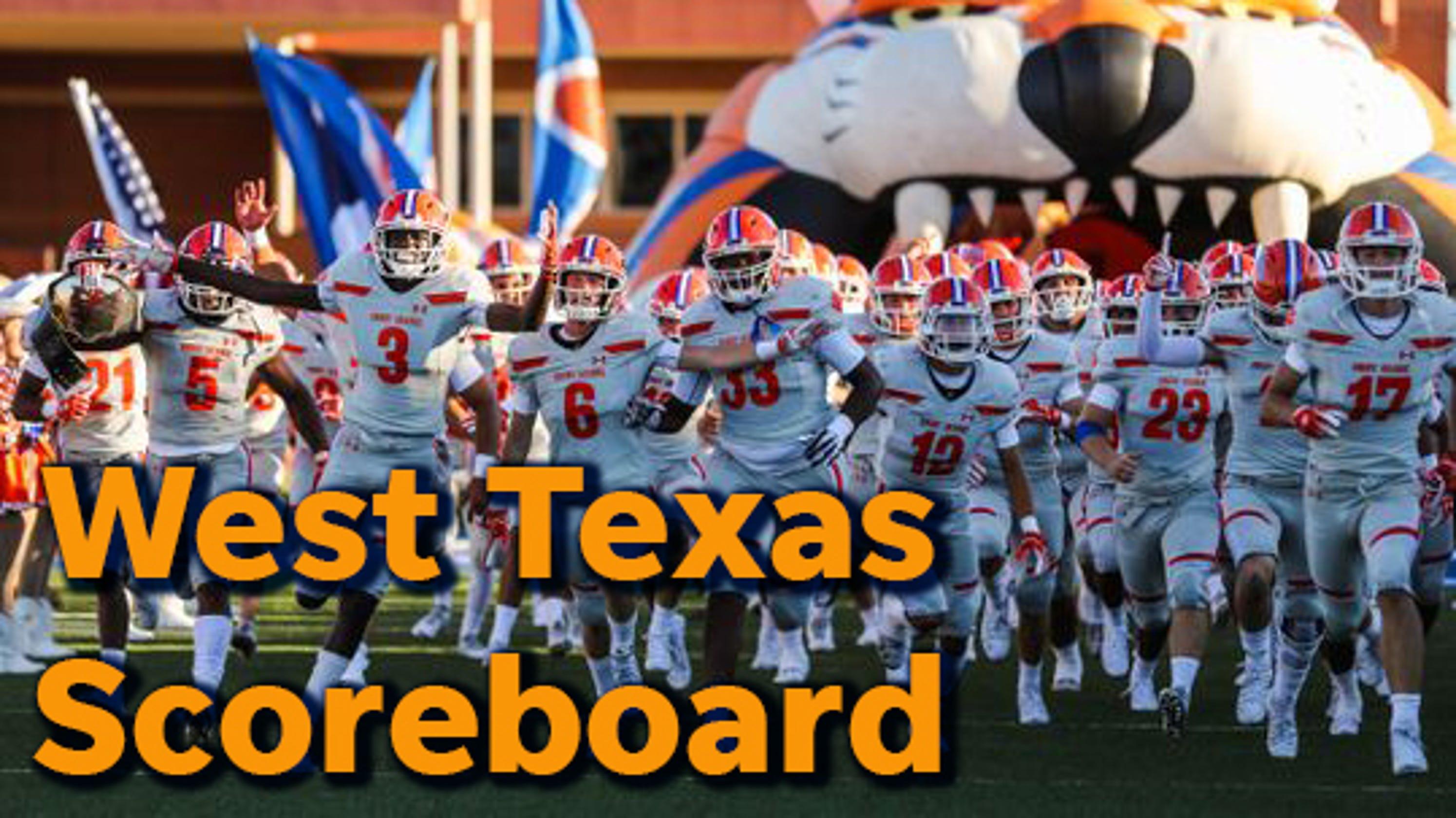 2018 West Texas High School Football Scoreboard
