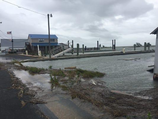 wachapreague in hurricane florence
