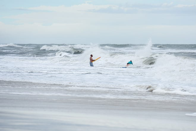 A file photo of Assateague Island. Two men diedon Sunday in what officials suspect were rip current-related drowningsat Assateague State Park.