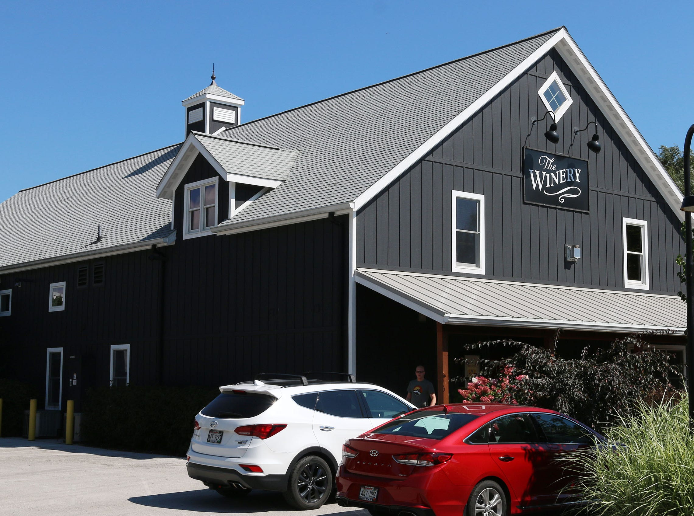 The exterior of the Winery building at The Blind Horse restaurant and winery, Thursday, September 13, 2018, in Kohler, Wis.