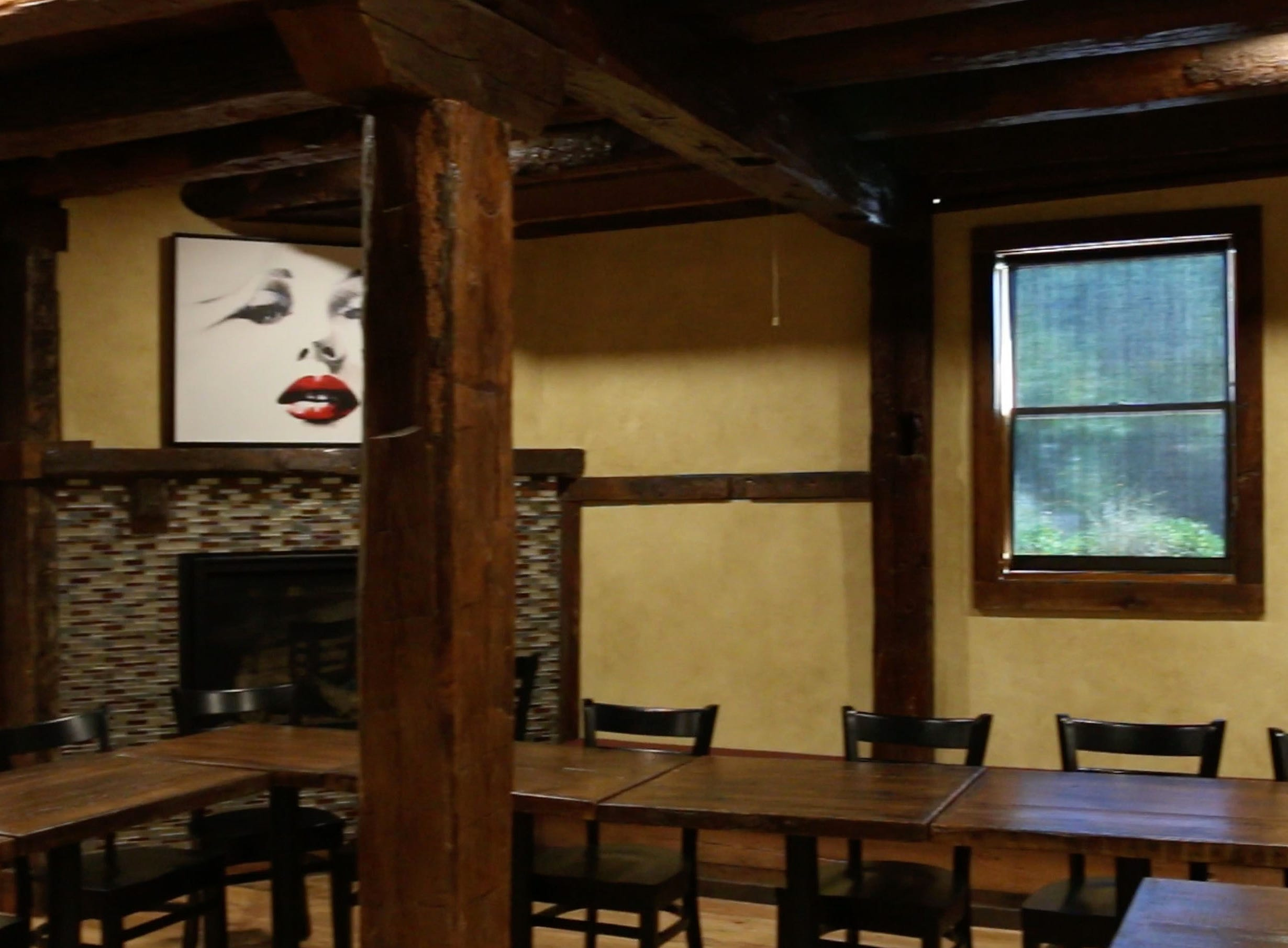 Inside the Granary building at The Blind Horse restaurant and winery, Thursday, September 13, 2018, in Kohler, Wis.