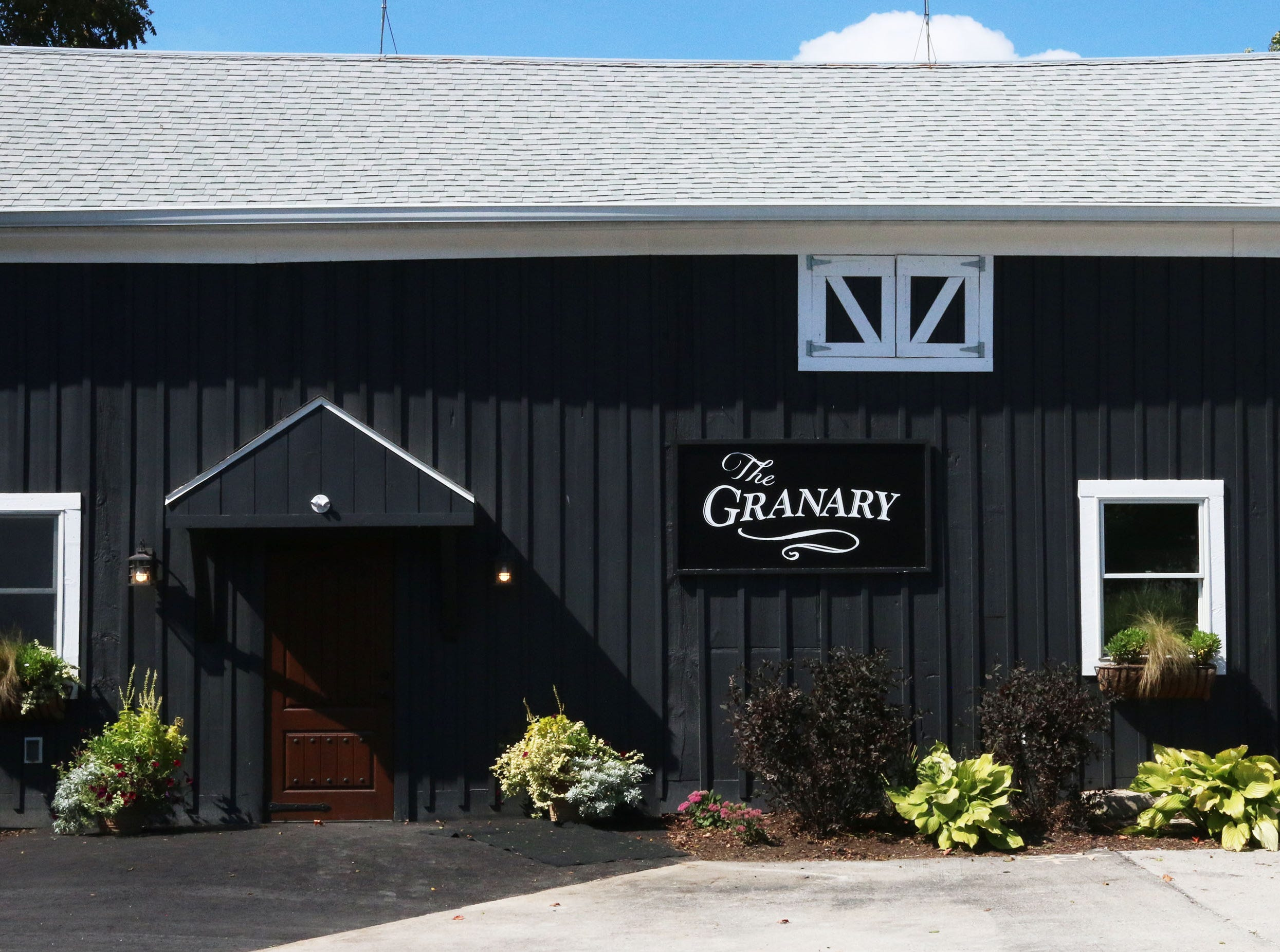 The exterior of The Granary building at The Blind Horse restaurant and winery, Thursday, September 13, 2018, in Kohler, Wis.