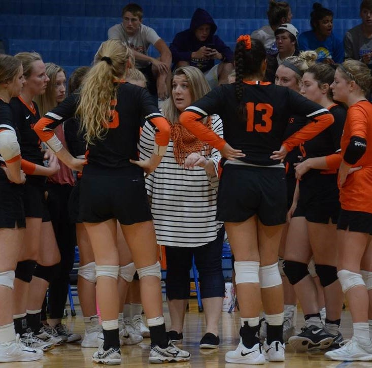 Volleyball coach sees great potential for rest of season