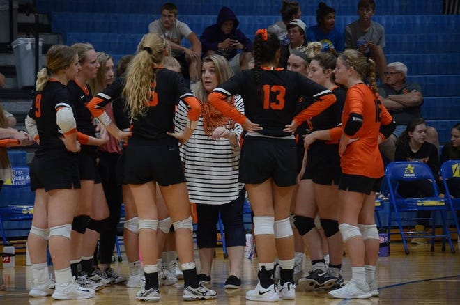 Head coach Jessica Ahlers and the rest of the Quarriers are ranked No. 4 in the latest Class A volleyball poll.