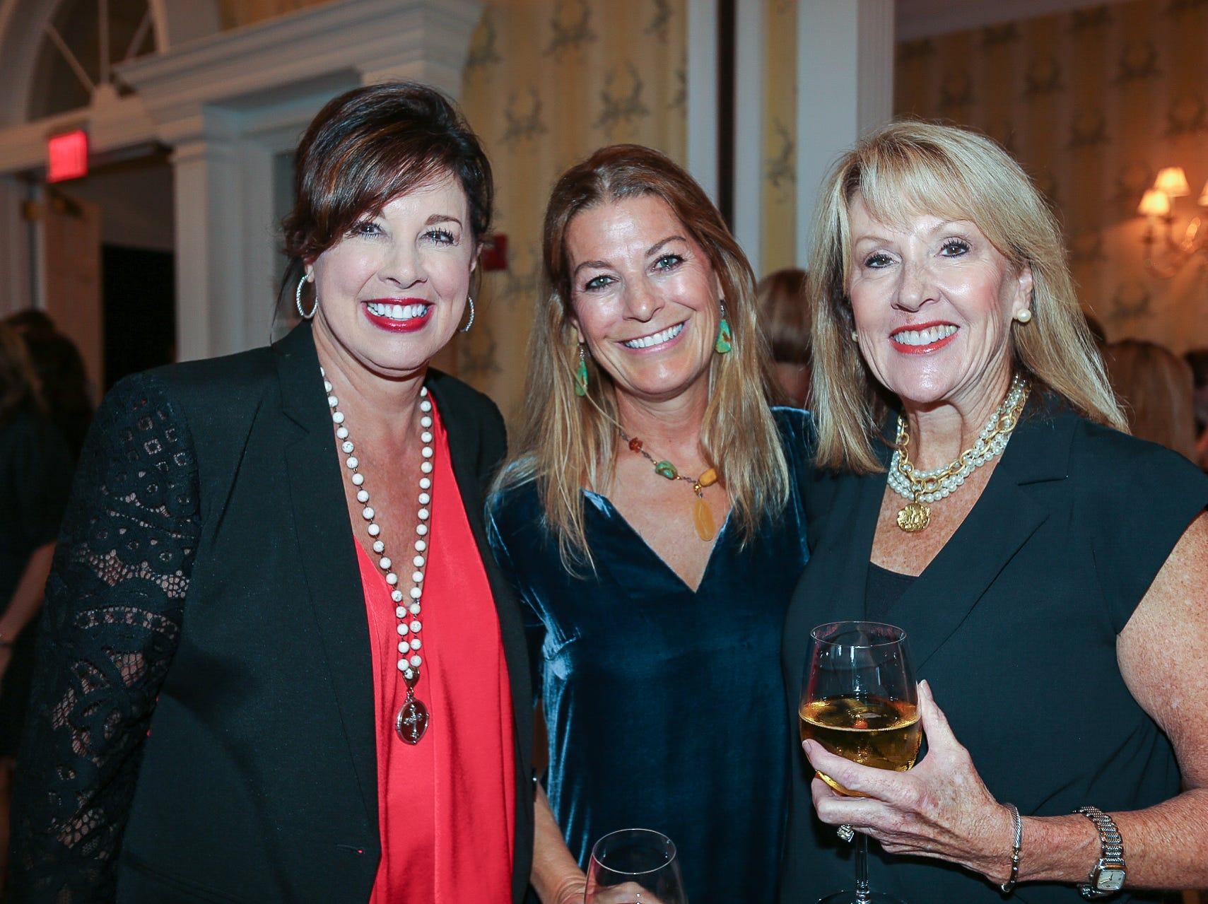 Jeanette Hutcheson, Silvia Sheppard, and Marilyn Bueker