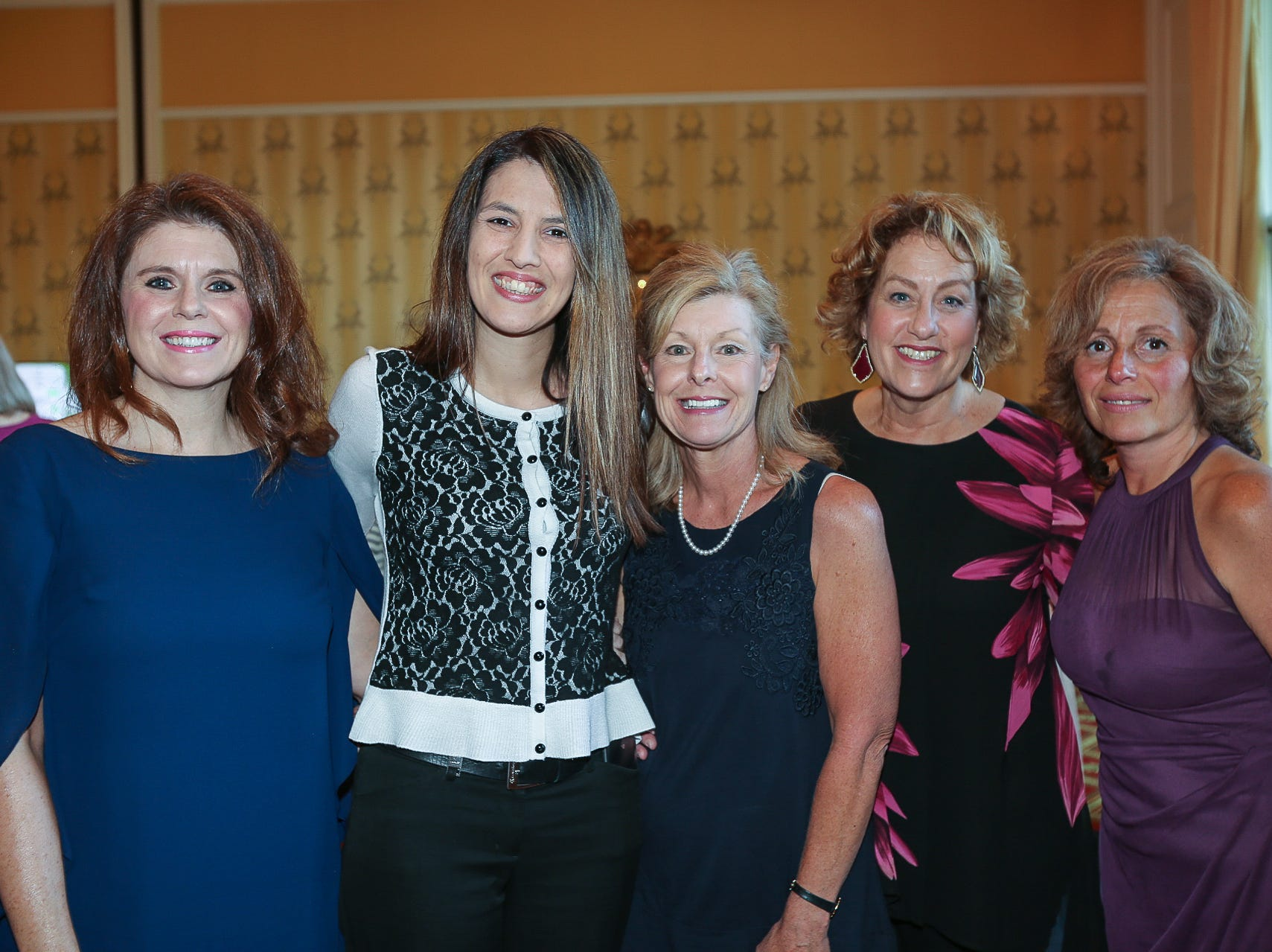 Jill Bright, Carrie Askins, Kim Farris, Terri Blackmon, and Cheryl Barrett