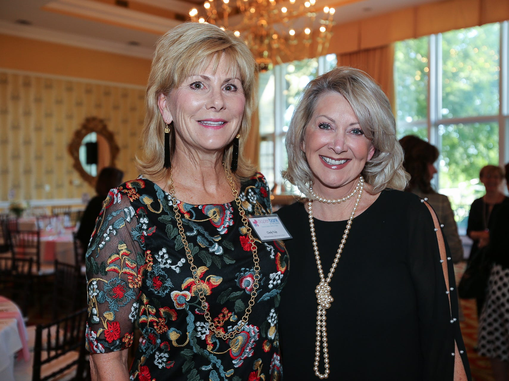 Cindy Fulp and Tracy Lipscomb
