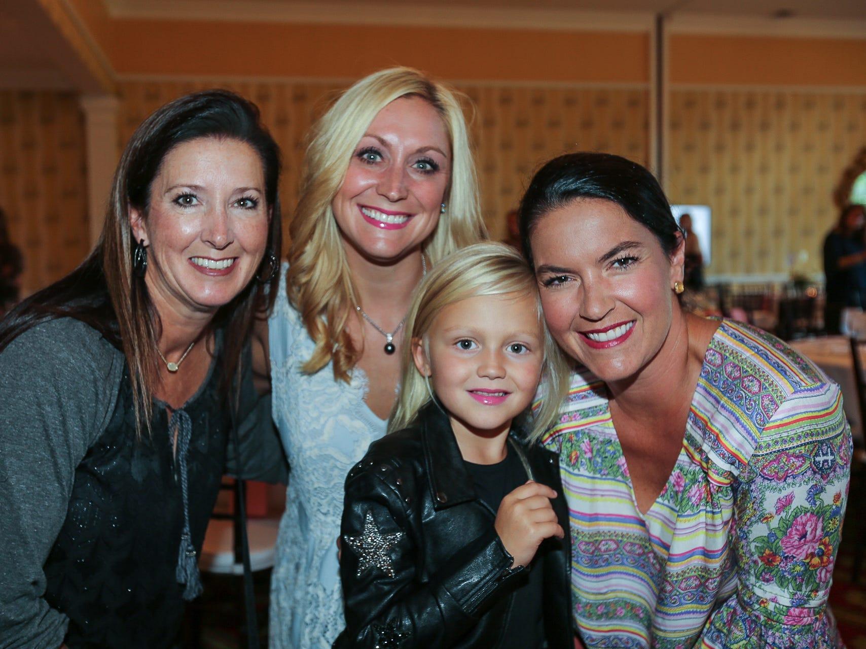 Natalie Walters and Brandi, Clara, and Brooke O'Reilly