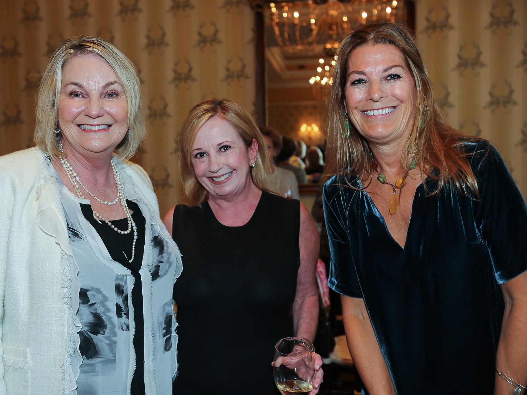 Buffy Butler, Terry O'Shell, and Silvia Sheppard
