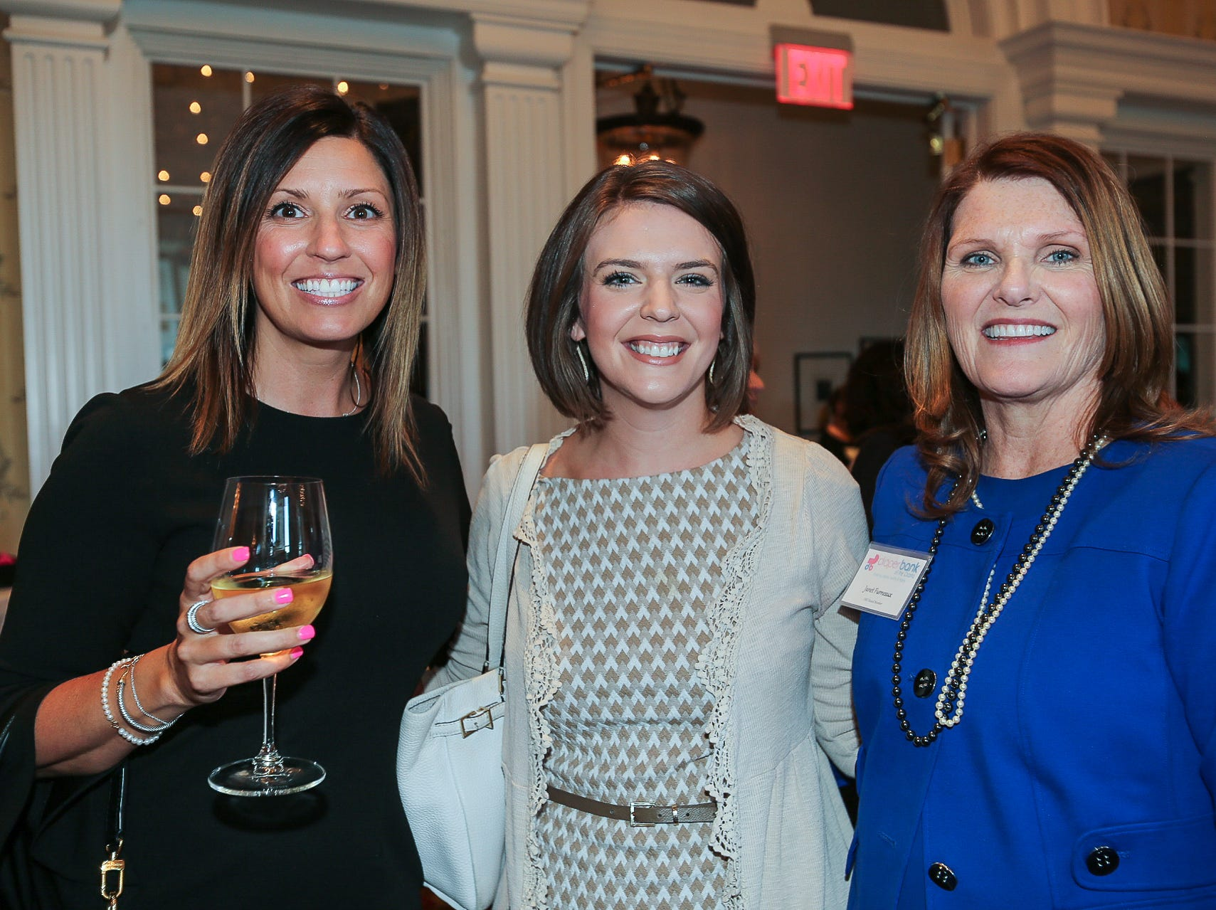 Erica Gaynor, Abby Dyer, and Janet Furneaux