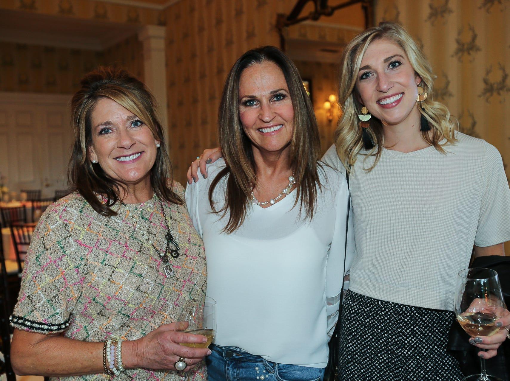 Becky and Kathryn Bergmann and Lisa Killian