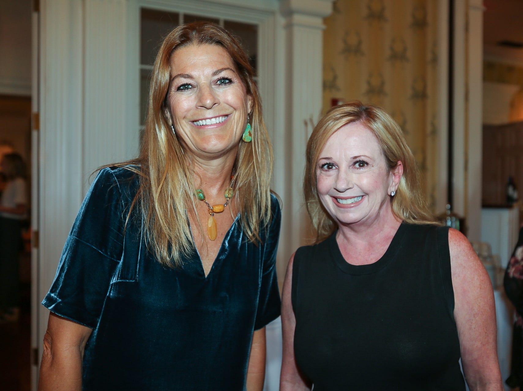 Silvia Sheppard and Tery O'Shell
