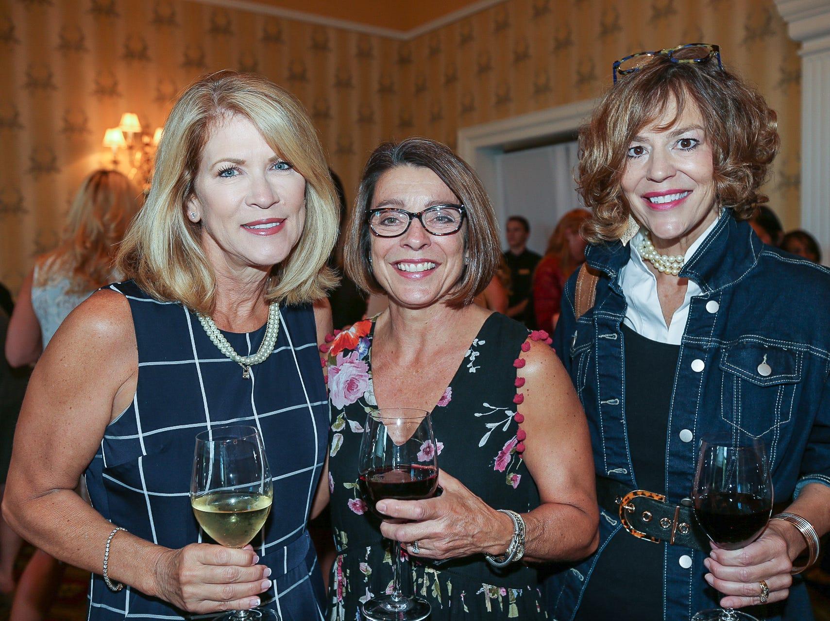 Kathy Hare, Gail Smart, and Susan Kirkman