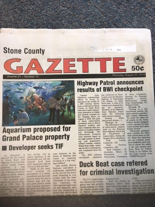 Stone County Gazette