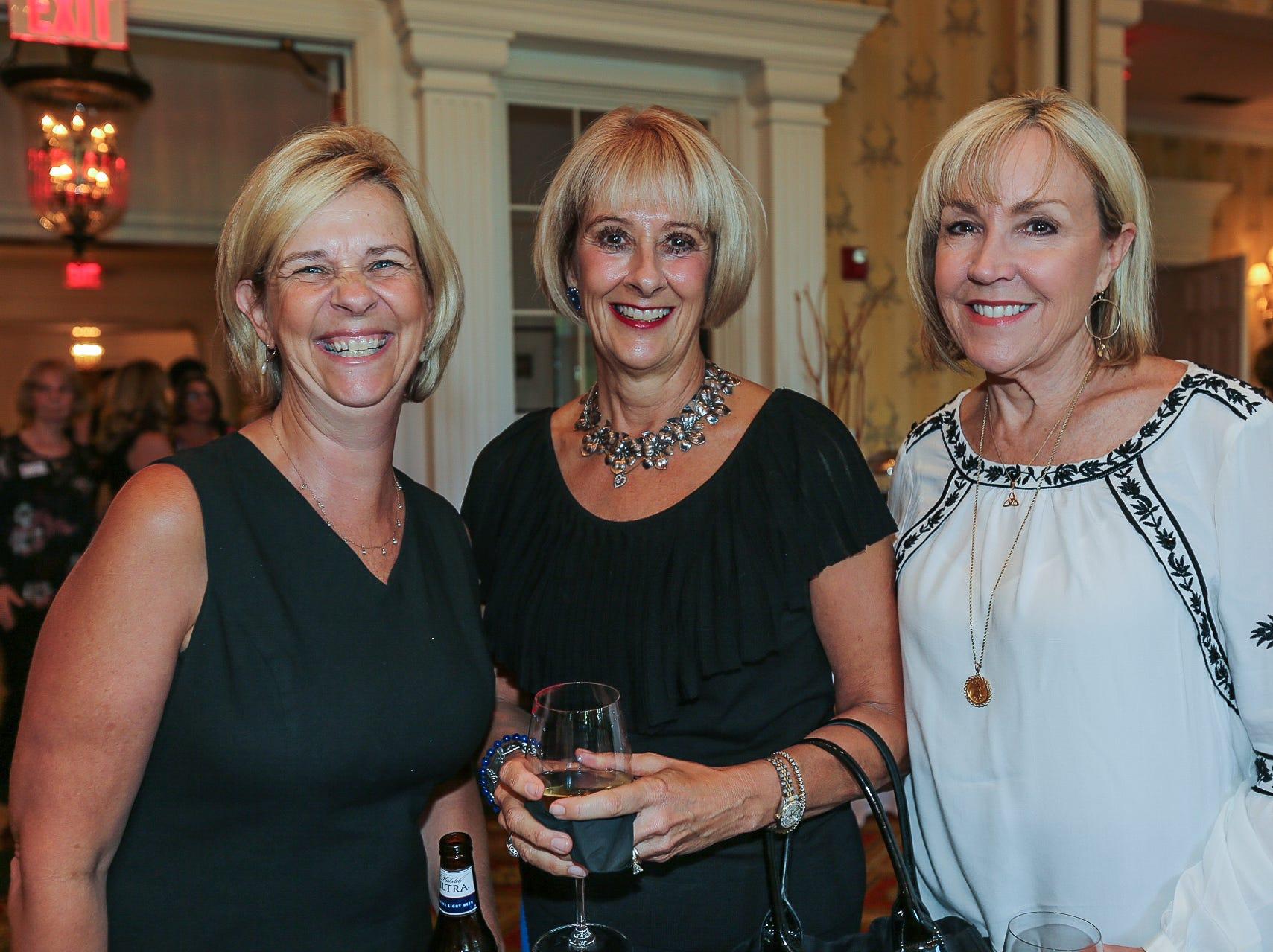 Amy Squires, Lynn Burk, and Cindy Hogan