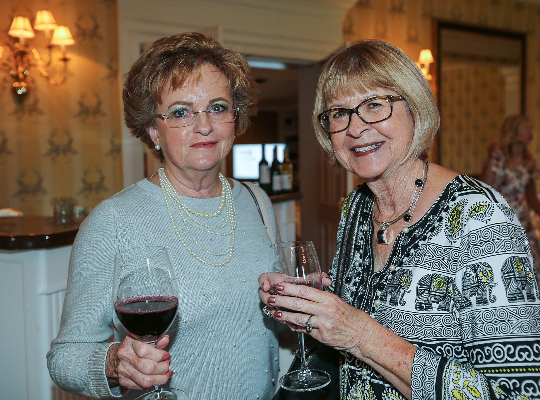 Mertie Jones and Sharon Cotton