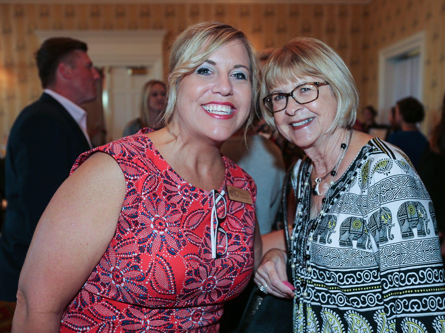Keri Buatte and Sharon Cotton