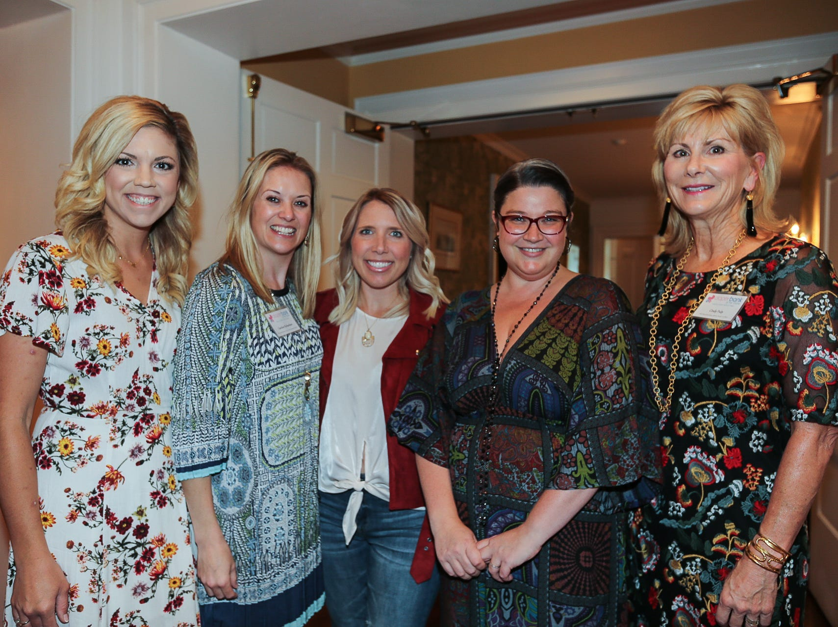 Ashley O'Sullivan, Caroline Richardson, Amy Henson, and Cindy Fulp