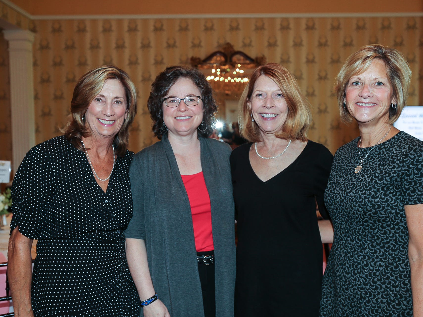 Susy Barr, Susan Essman, Terri Libel, and Kristy Bowenschultz