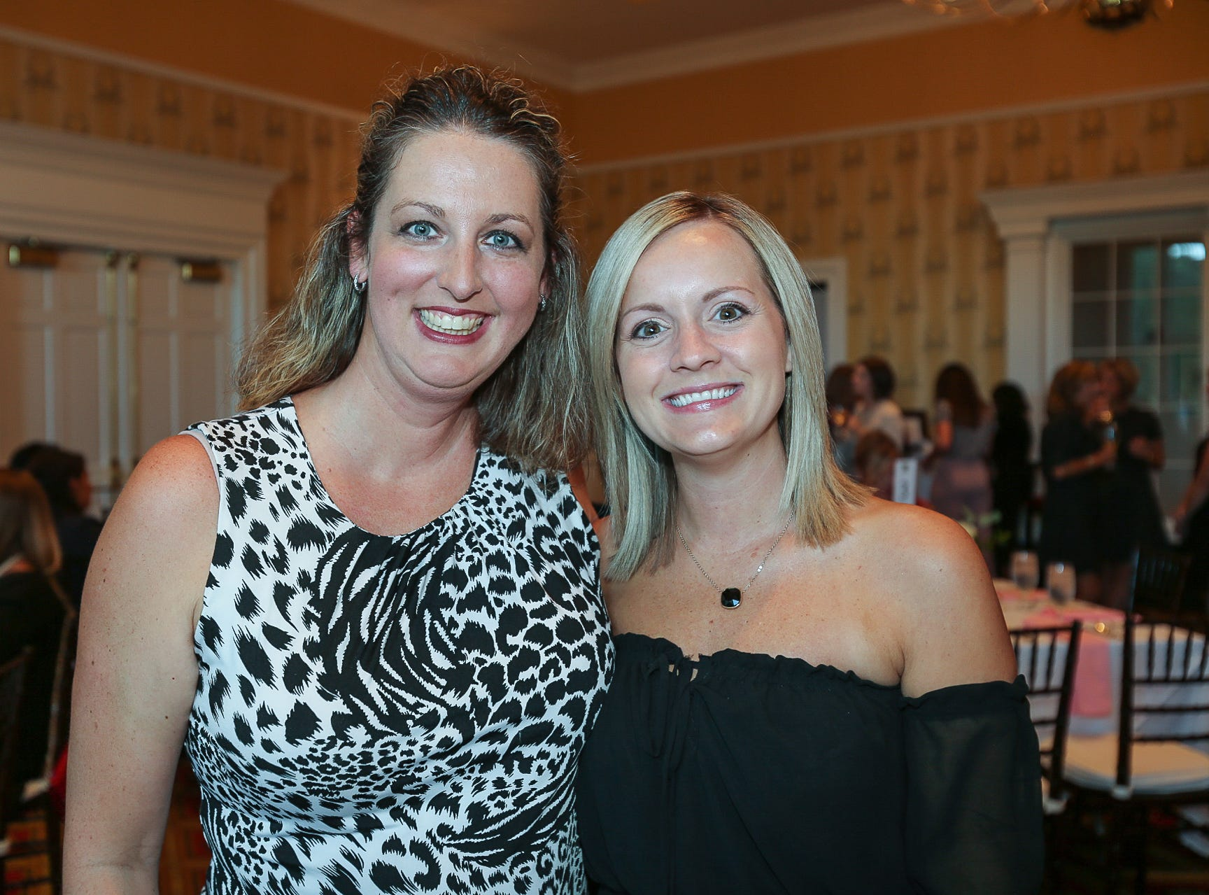 Melissa Borras and Hannah McCraig