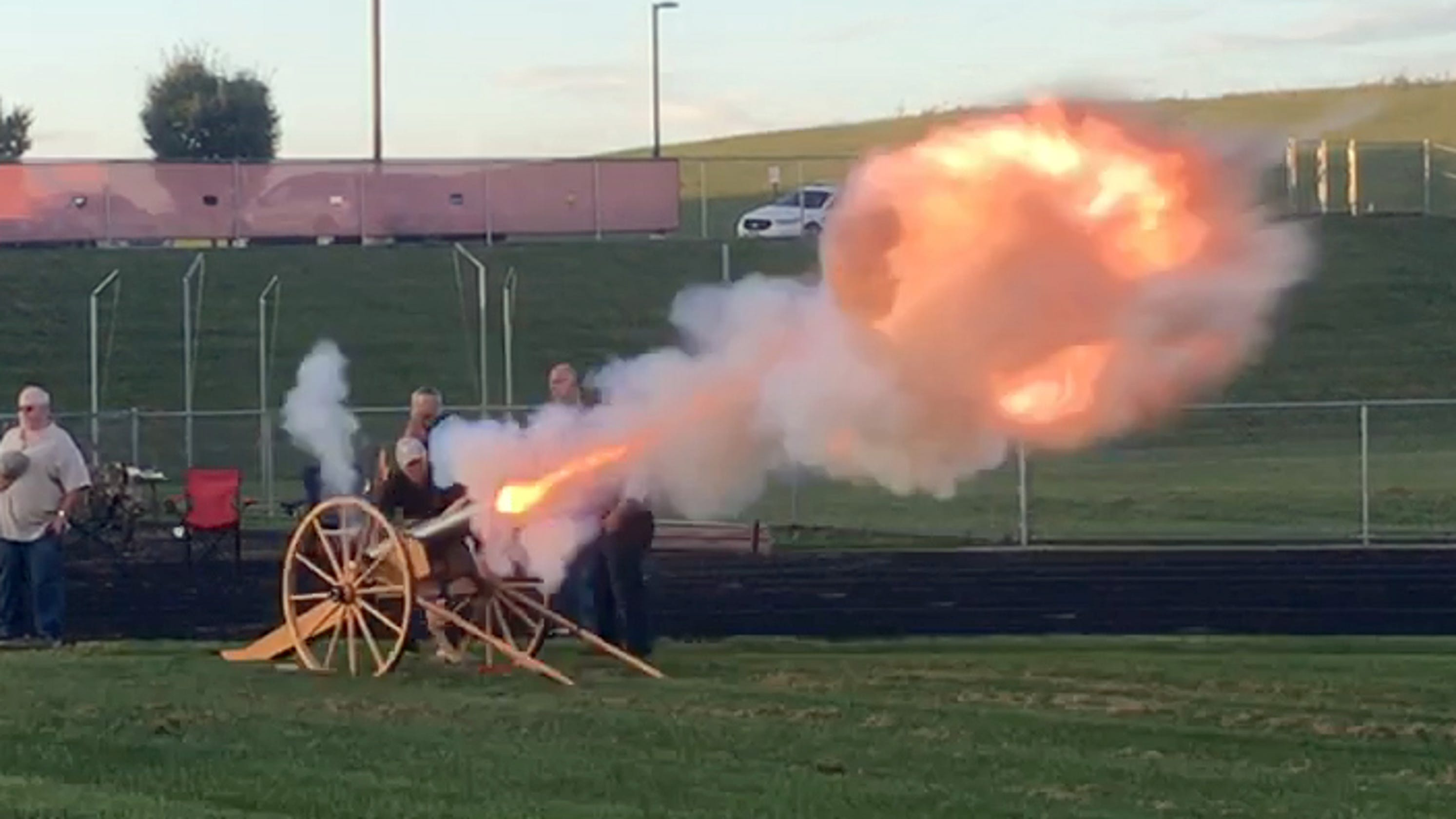 Big Bang Reality: Homemade cannon fires up East Rockingham crowd