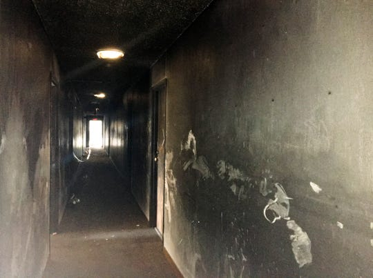 A cigarette fire Sept. 8 on a third-floor balcony at 327 Seventh Ave. S spread upward, and mostly impacted the fourth floor of a Cedar Row apartment building.