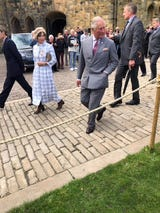 St. Cloud State University students meet Prince Charles and the Duke and Duchess of Northumberland in this Sept. 13 video.