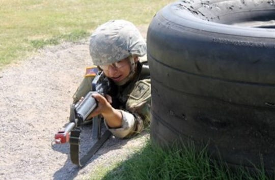 St. Cloud State soccer defender Sara Magno is a member of the ROTC. She plans on becoming a doctor and having a career in the Army.