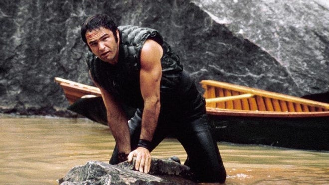 """Burt Reynolds filmed """"Deliverance"""" along the Chatooga River in North Georgia in the early '70s."""