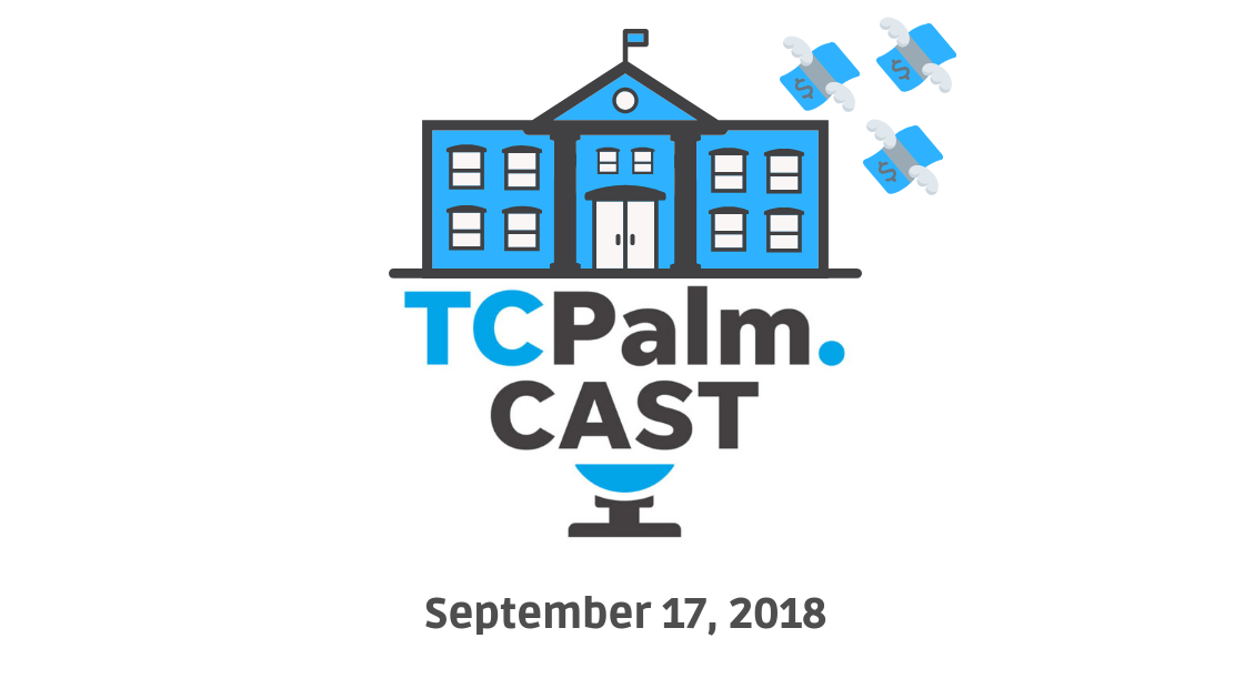 TCPalmCAST   Sept. 17: Money for school Guardians stays put, Stuart's Brightline meeting to draw crowds and more on today's podcast