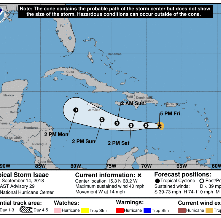 Isaac dissipates; NHC issues final advisory