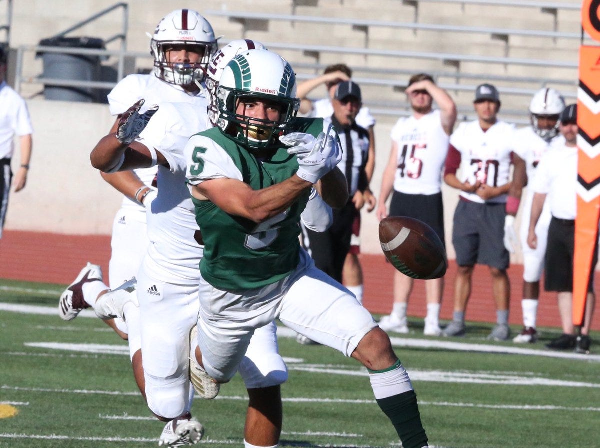 Montwood's Ivan Vilchis is shown in a game against Midland Lee.