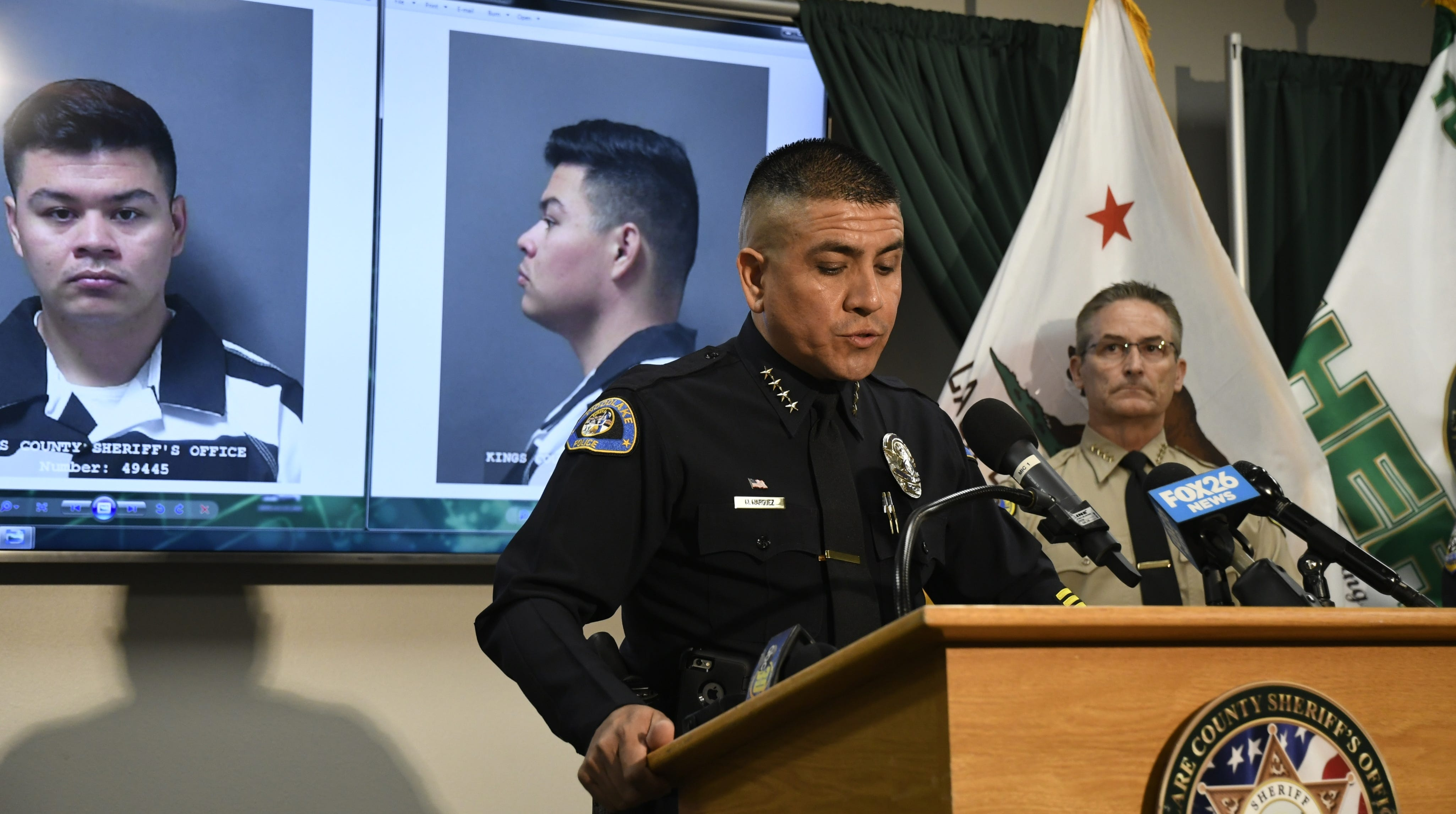 Tulare County Sheriff: Woodlake officer in uniform during sexual assaults