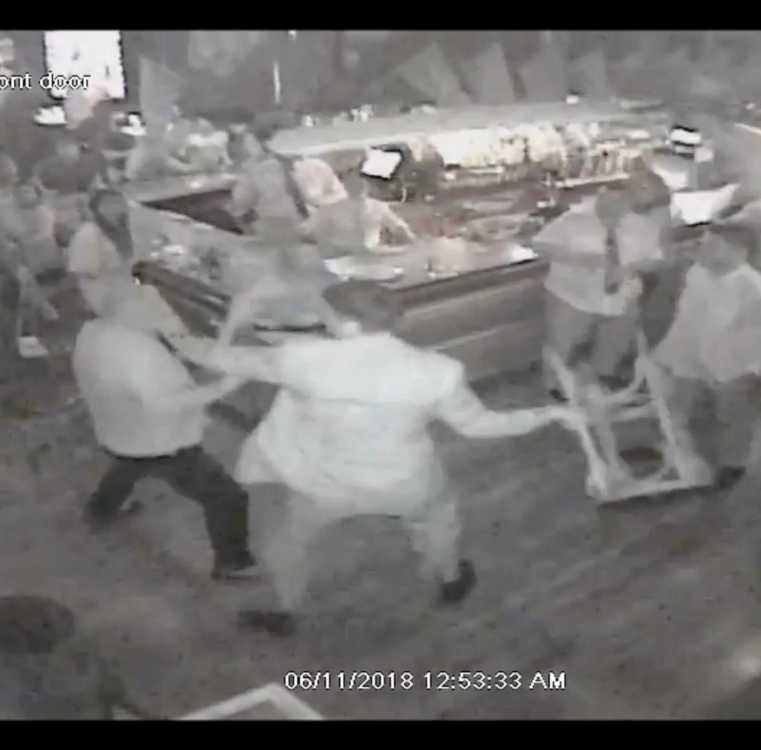 Yonkers releases firefighter bar fight videos