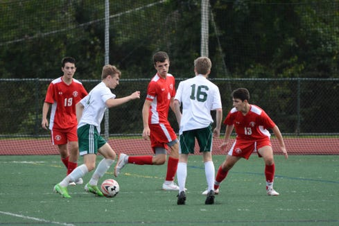 Yorktown senior Tim O'Callaghan is a tenacious competitor with the kind of speed that forces defenders to give a step.