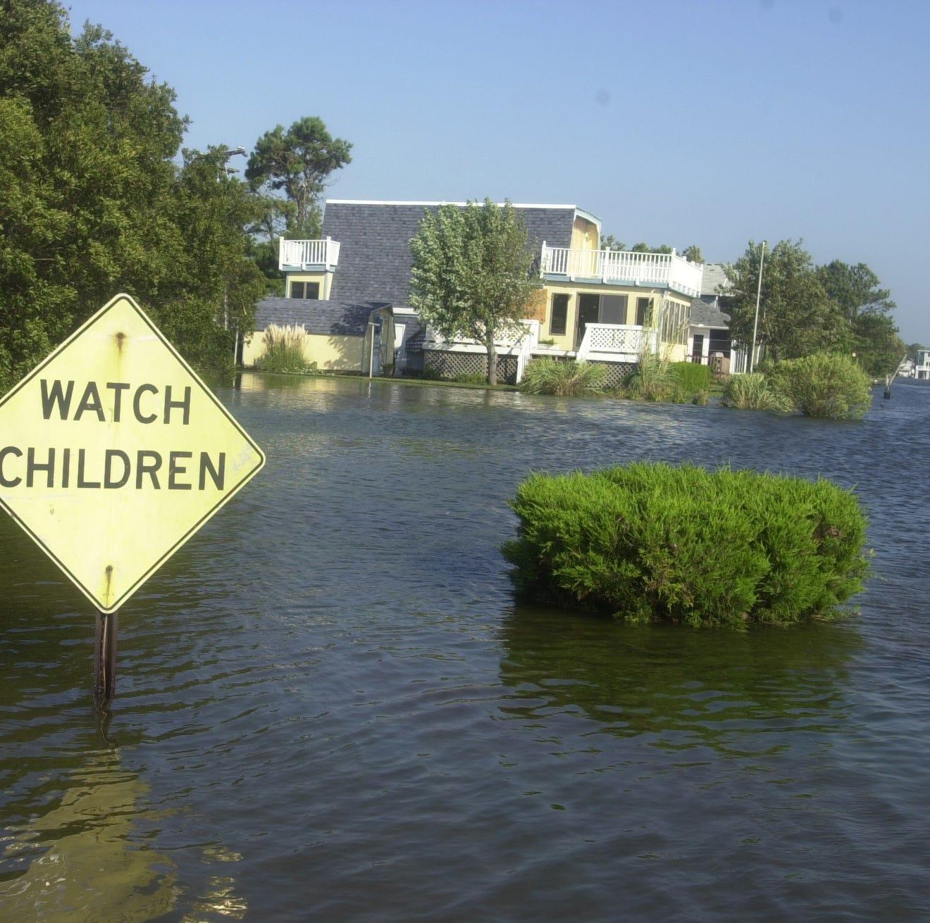 Sea level rise holding back Delaware beach property values