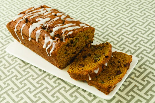 Gluten-free chocolate chip and pumpkin bread