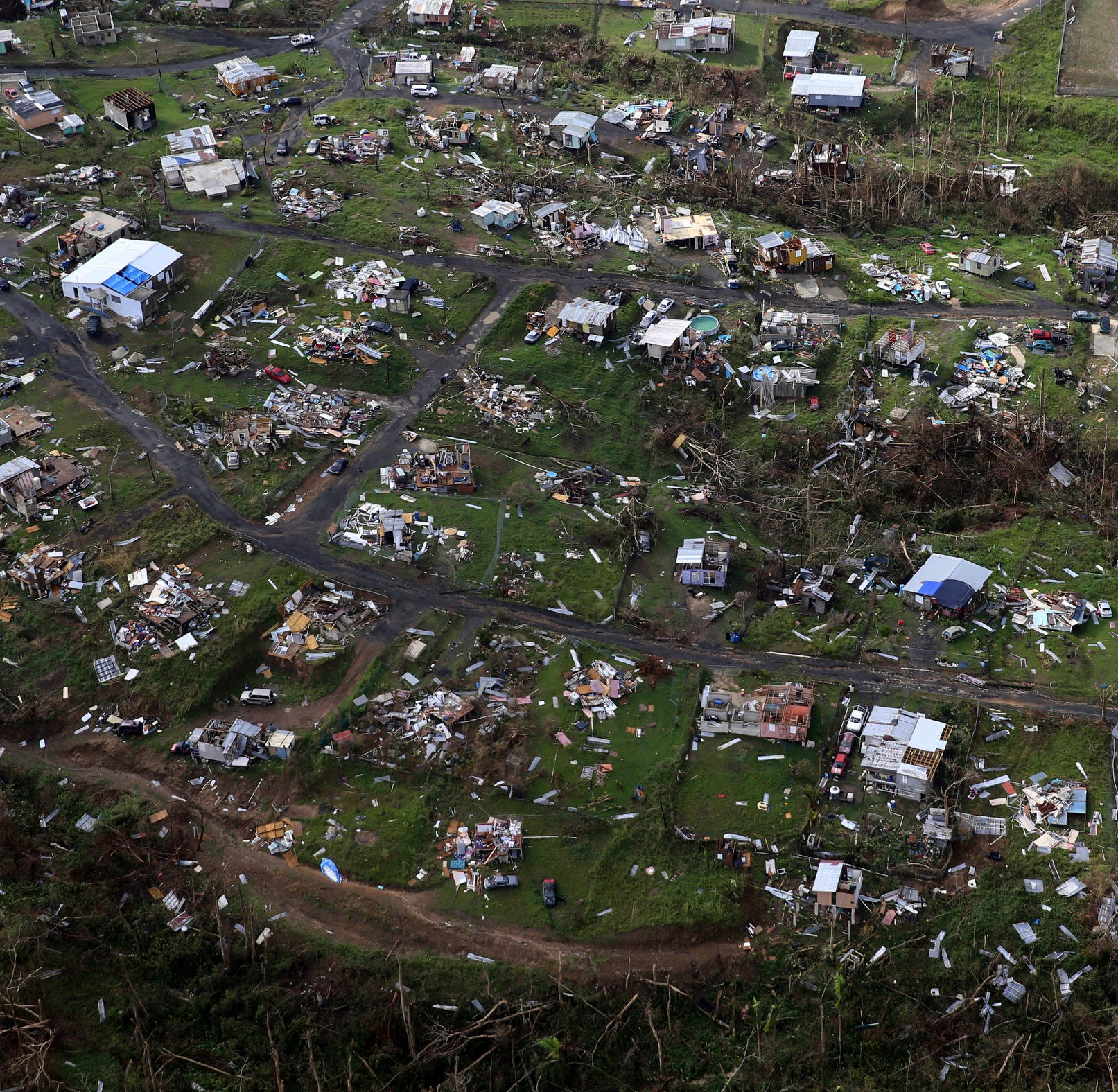 Not buying President Trump's version of post-Maria Puerto Rico