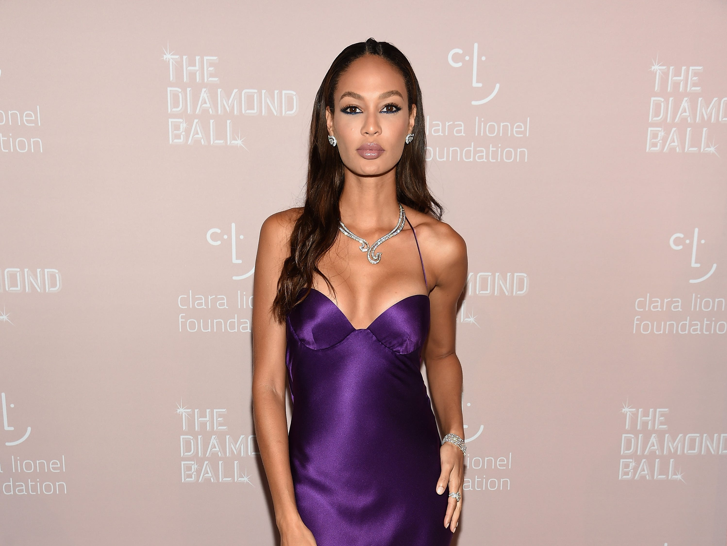 NEW YORK, NY - SEPTEMBER 13: Joan Smalls attends Rihanna's 4th Annual Diamond Ball benefitting The Clara Lionel Foundation at Cipriani Wall Street on September 13, 2018 in New York City.  (Photo by Dimitrios Kambouris/Getty Images for Diamond Ball) ORG XMIT: 775197456 ORIG FILE ID: 1032932934