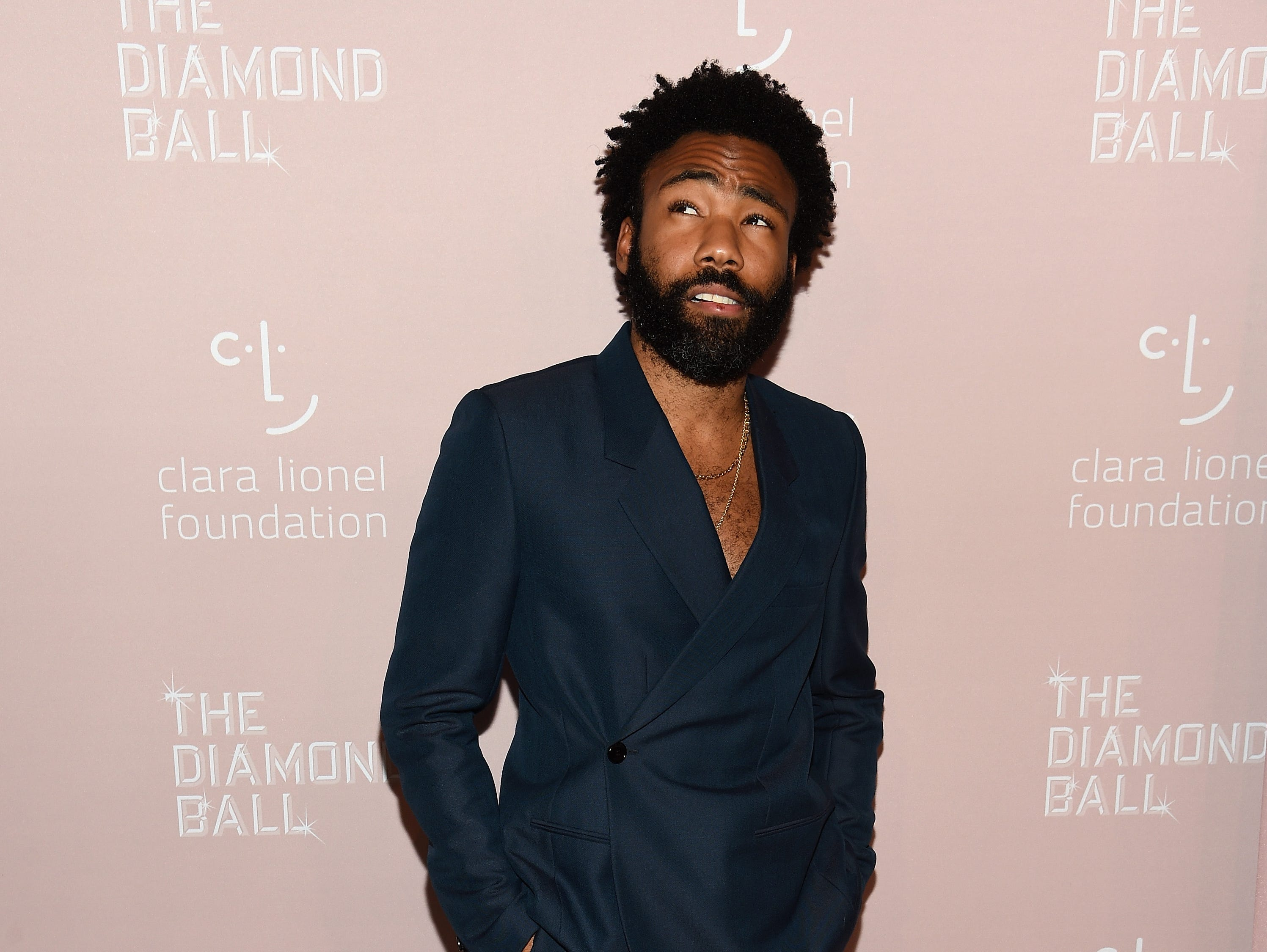 NEW YORK, NY - SEPTEMBER 13:  Childish Gambino attends Rihanna's 4th Annual Diamond Ball benefitting The Clara Lionel Foundation at Cipriani Wall Street on September 13, 2018 in New York City.  (Photo by Dimitrios Kambouris/Getty Images for Diamond Ball) ORG XMIT: 775197456 ORIG FILE ID: 1032913084
