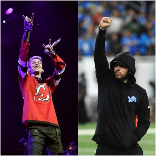 Eminem Mgk