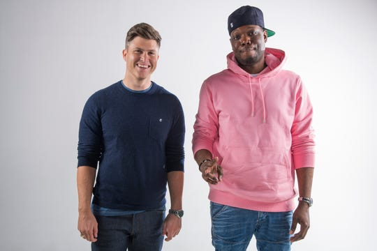 "Colin Jost and Michael Che, best known for Weekend Update segments on ""Saturday Night Live,"" will host the 70th Primetime Emmy Awards Sept. 17 on NBC."