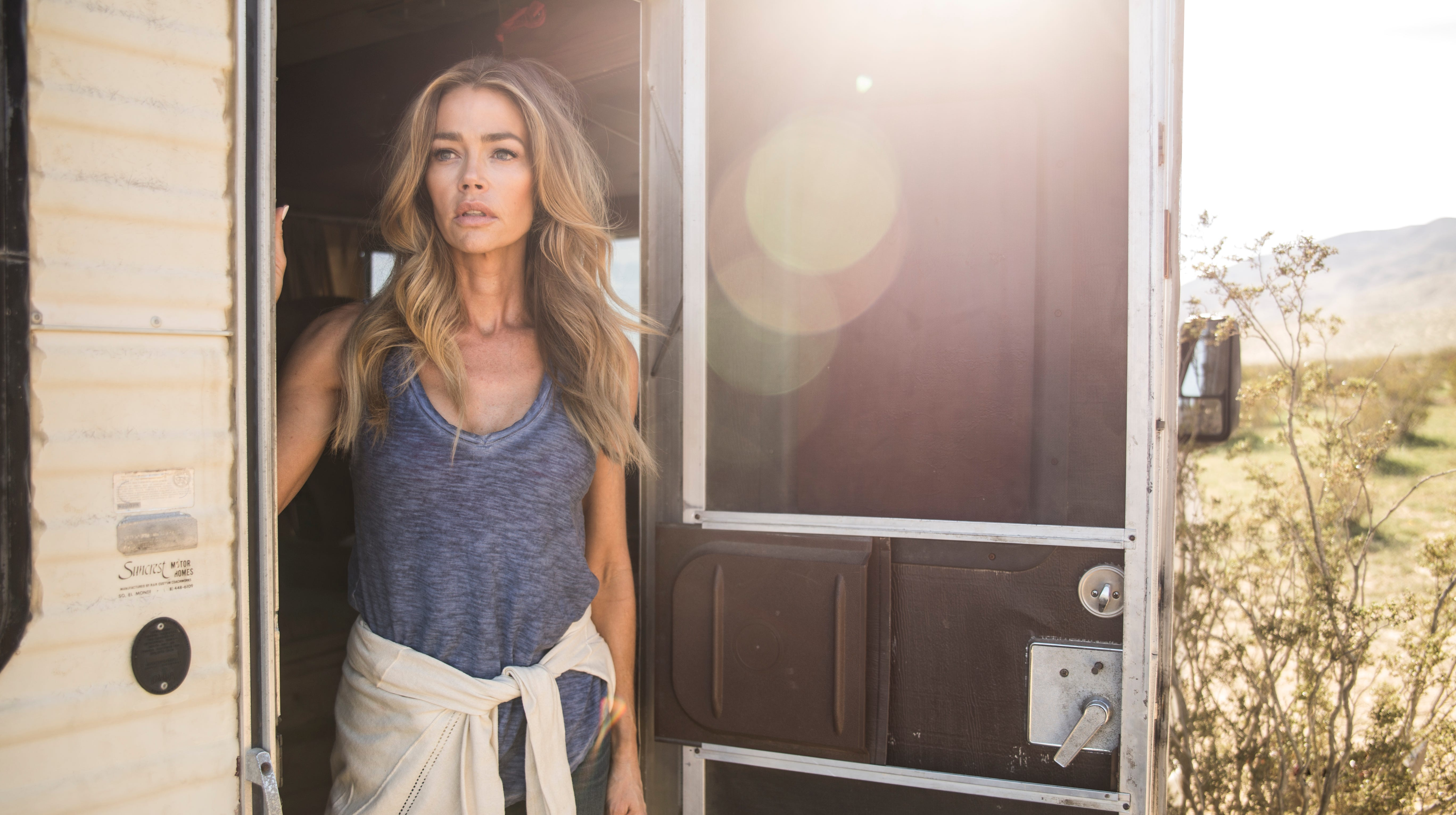 Denise Richards on returning to horror in 'ToyBox,' acting dead and her real Malibu wedding