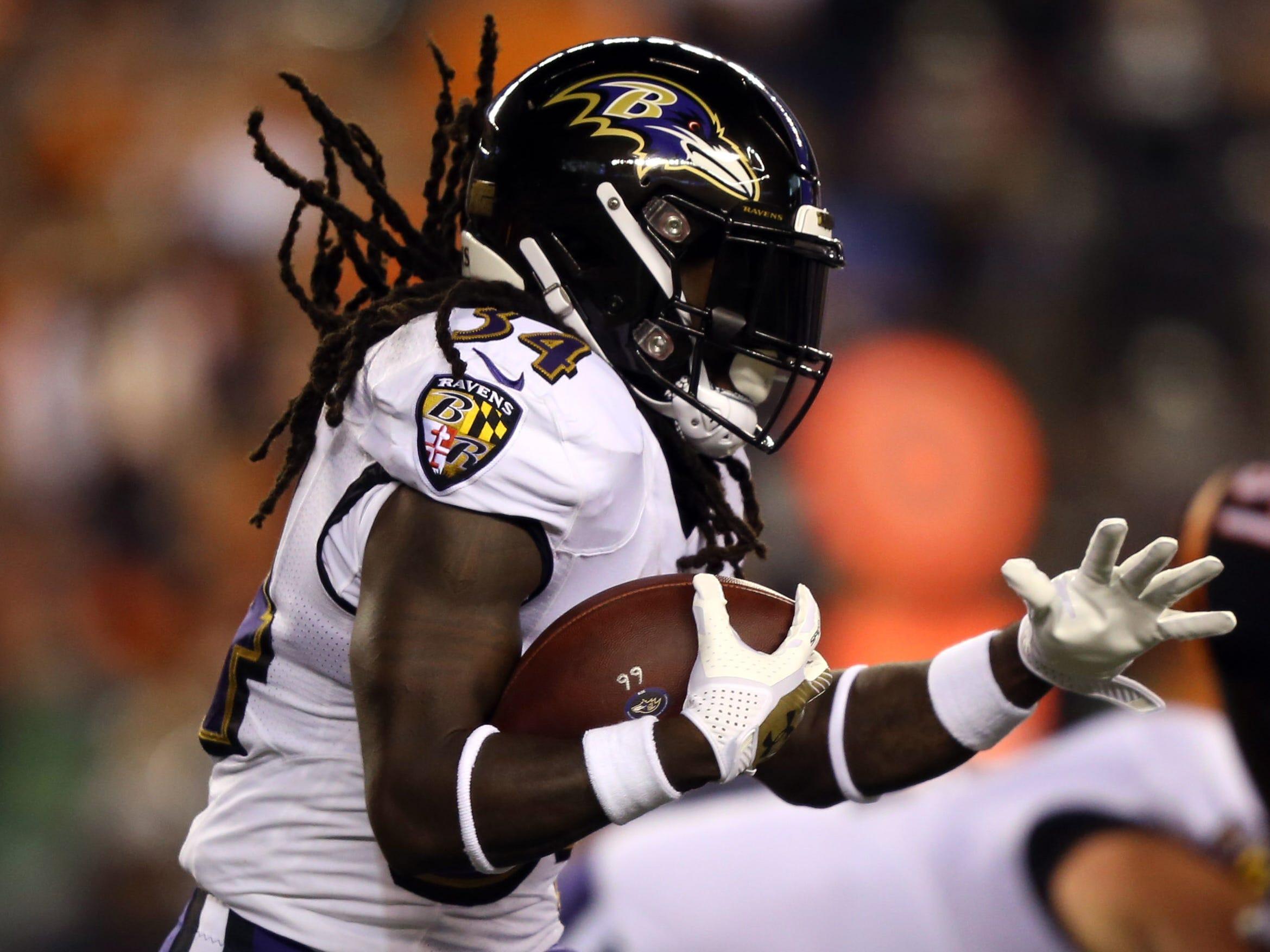 Ravens running back Alex Collins was arrested Friday.