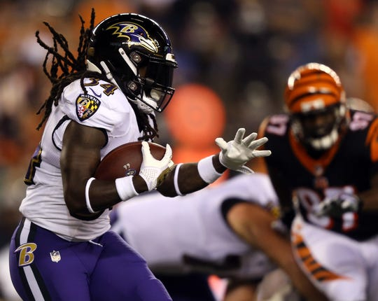 Ravens running back Alex Collins was arrested Friday.